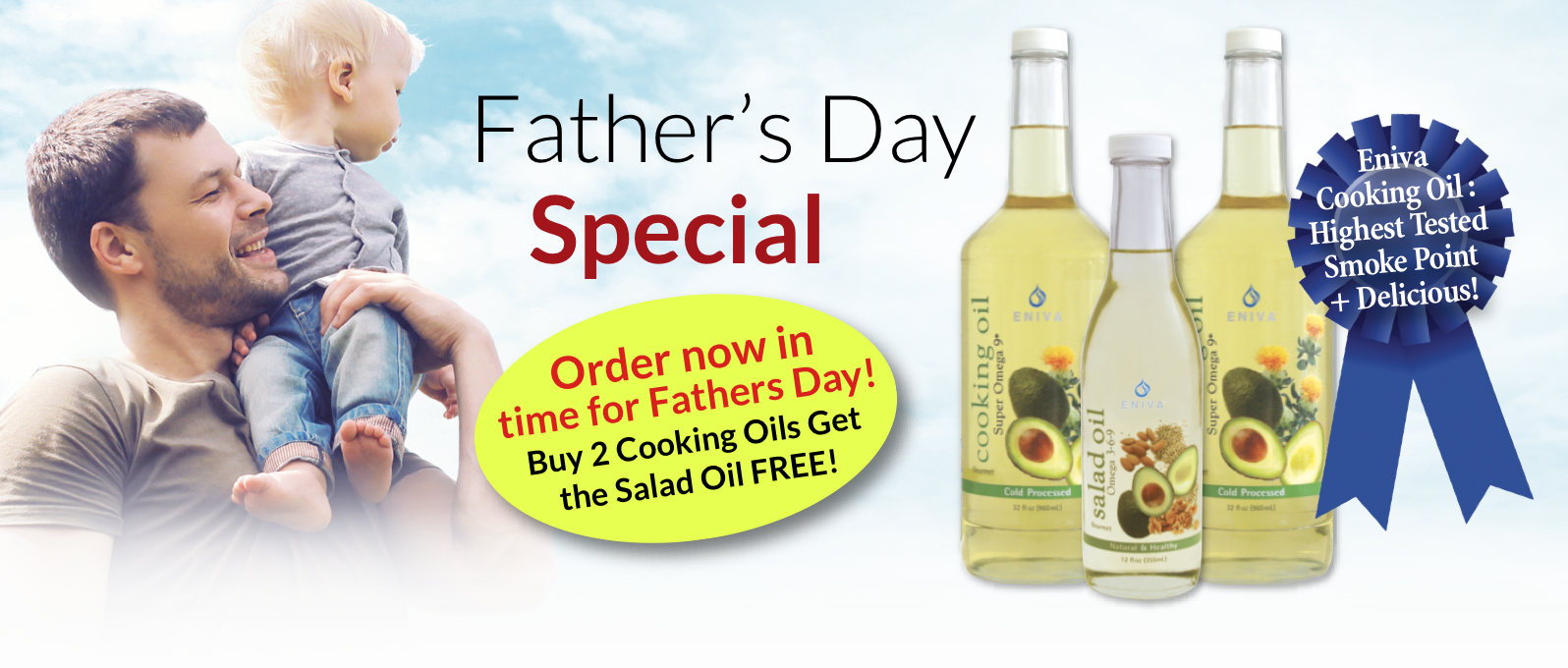 father's day Cooking oil omega 9 buy 2 get 1